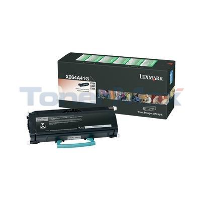 LEXMARK X264 TONER CARTRIDGE RP